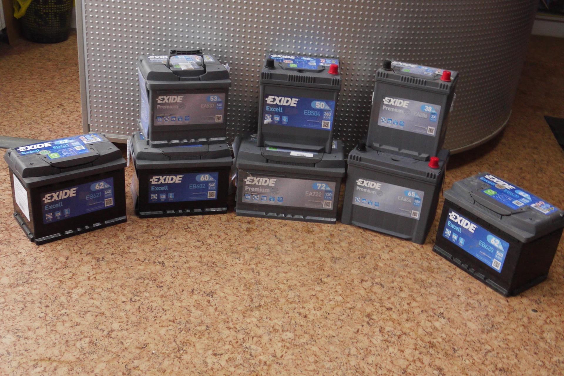 Фото различных аккумуляторов
